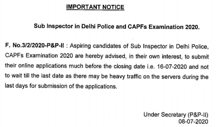 SSC-CPO-APPLICATION-NOTICE