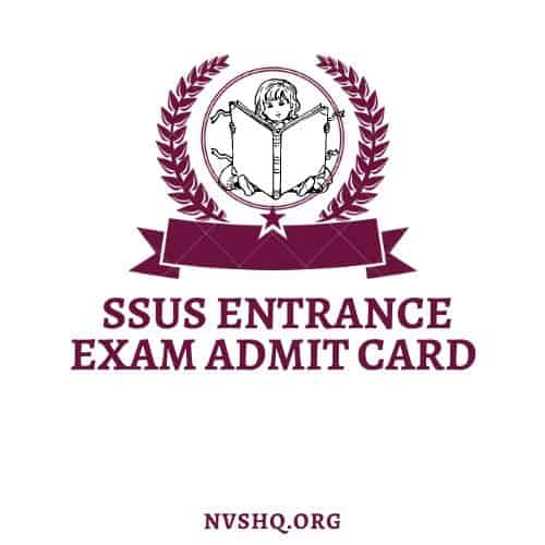 SSUS-Entrance-Exam-Admit-Card-2020-Download-Hall-Ticket-Exam-Dates