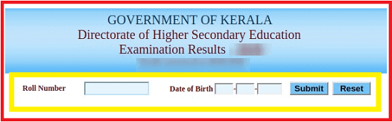 keralaresults.nic.in roll number wise 2020 result