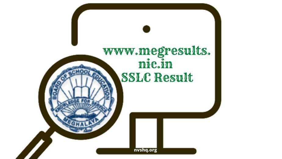 www.megresults.nic.in SSLC Result-2020