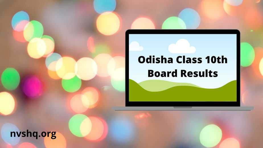 www.orissaresults.nic.in-HSC-Result-2020-Annual-Board-Exam-10th-Result