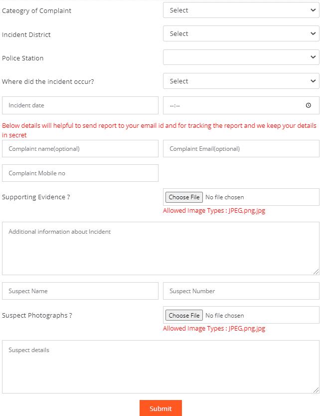 Complaint-form