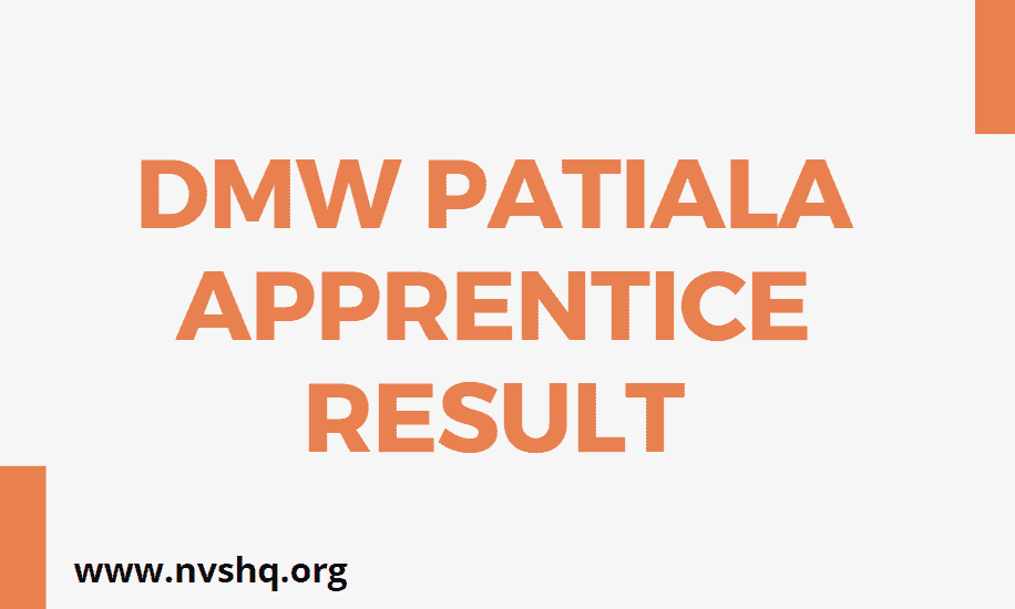 DMW-Patiala-Apprentice-Result-2020