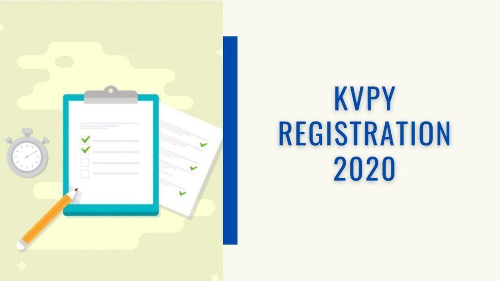 KVPY Registration 2020
