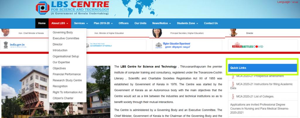 Kerala-SET-quick-links