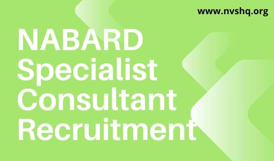 NABARD-Specialist-consultant-Recruitment-2020