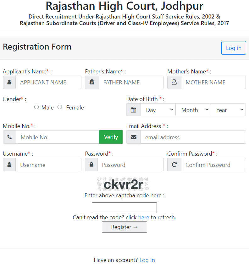 Rajasthan-HC-registr-form