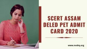 SCERT-assam-deled-PET-admit-card