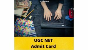 UGC NET Admit Card June Session 2020