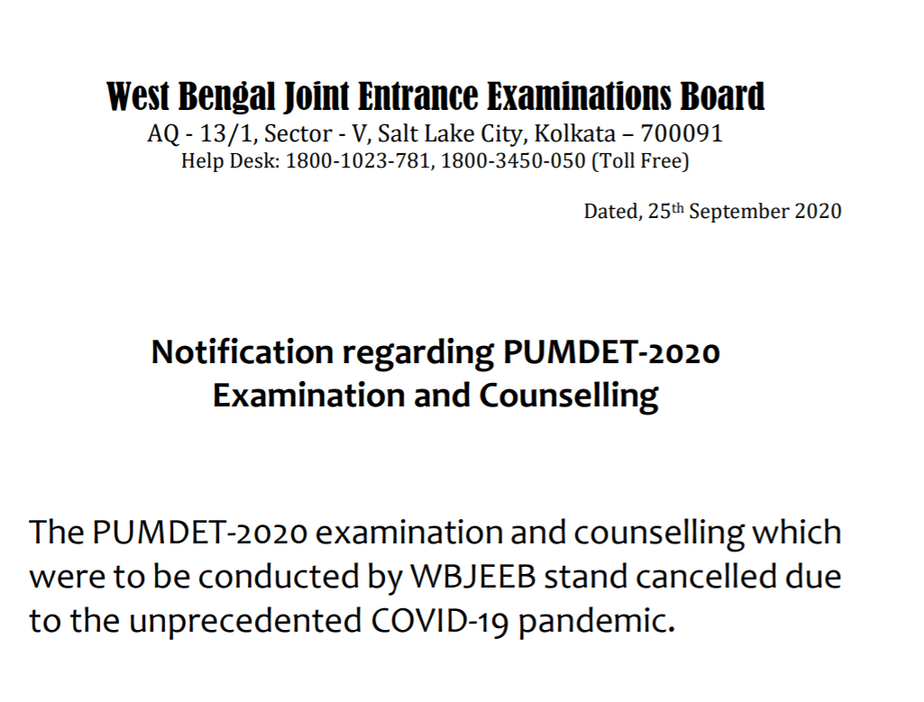 wbpsc-pubdet-exam-cancelled-notice