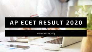 AP ECET Result 2020 Date Rank Card