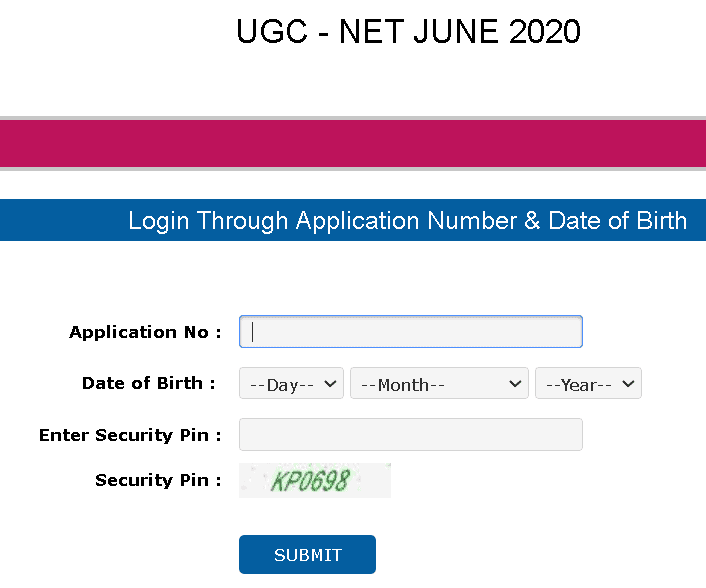 NET-2020-June-admit-card