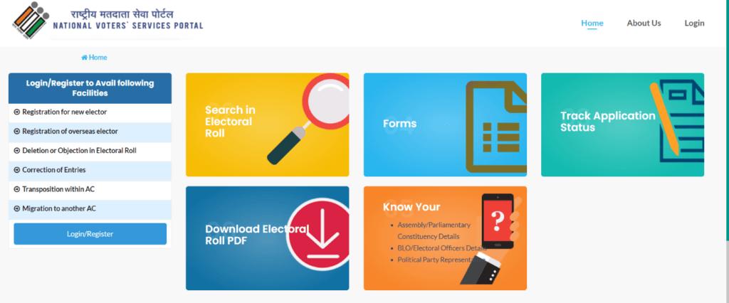 National-Voter-Service-Portal