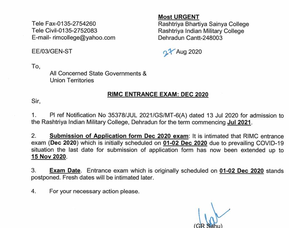 rimc-2021-exam-postponed