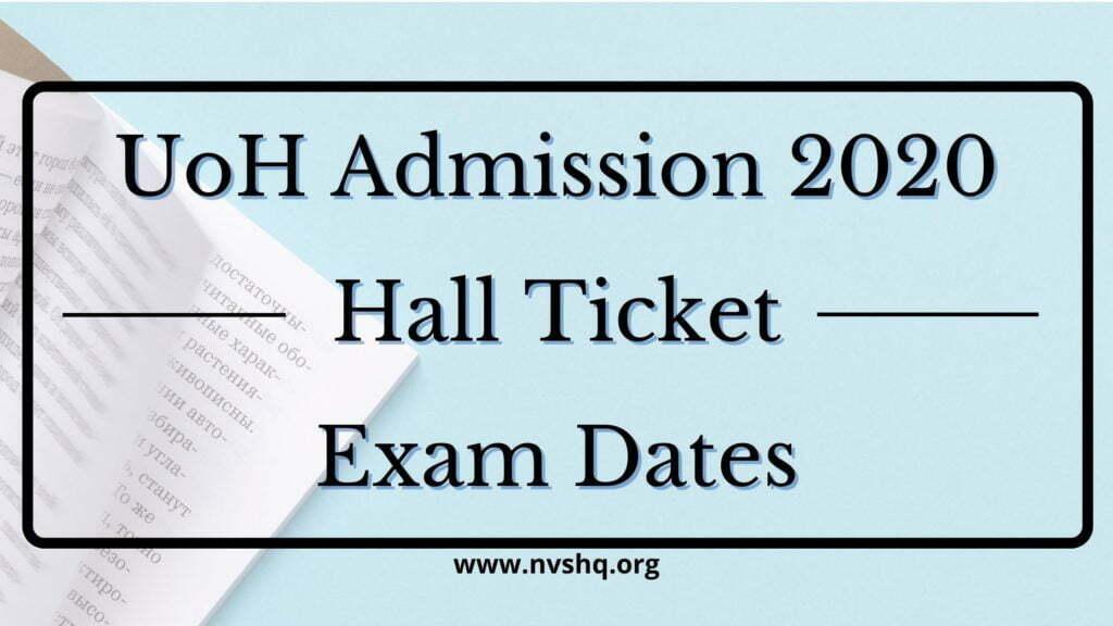 UoH_Admission_2020_hall_ticket