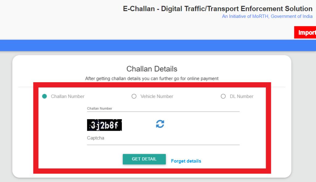 electronic-challan-status-details