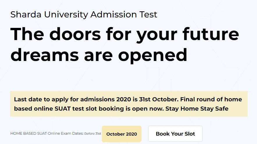 SUAT-Admission-2020-notice