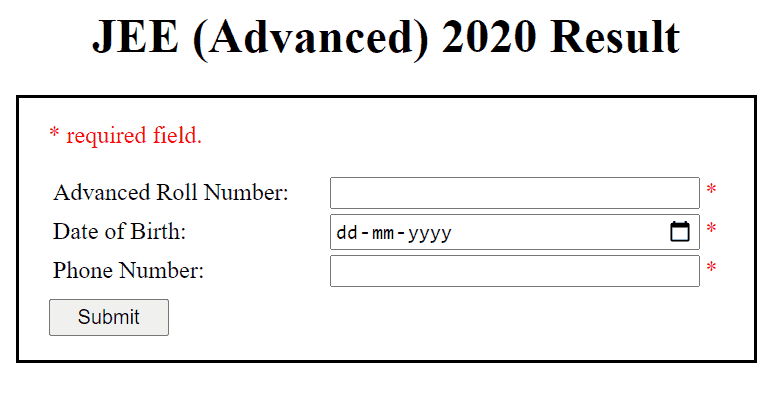 jee-advanced-result-login