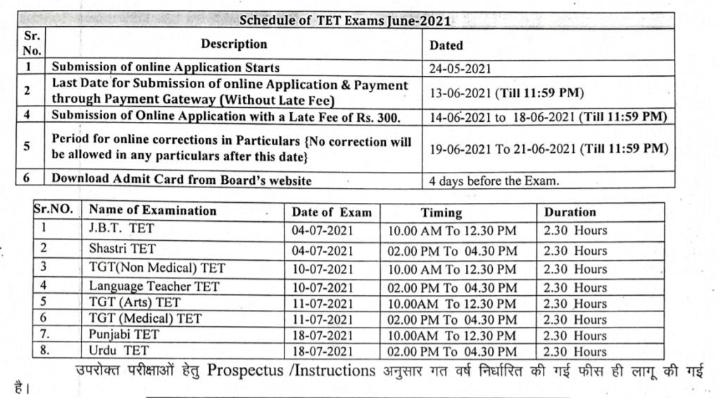 HP-TET-Exam-Date