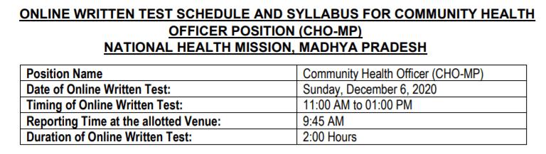 NHM-CHO-MP-2020-Exam-Date-notice