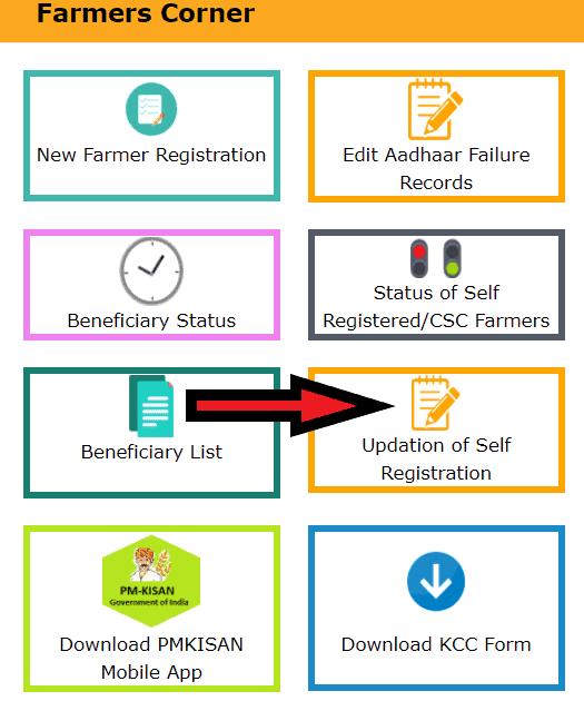 PM-Kisan-self-registration