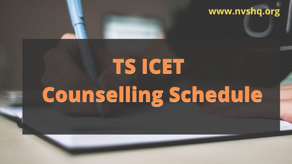 TS-ICET-Counselling-Schedule