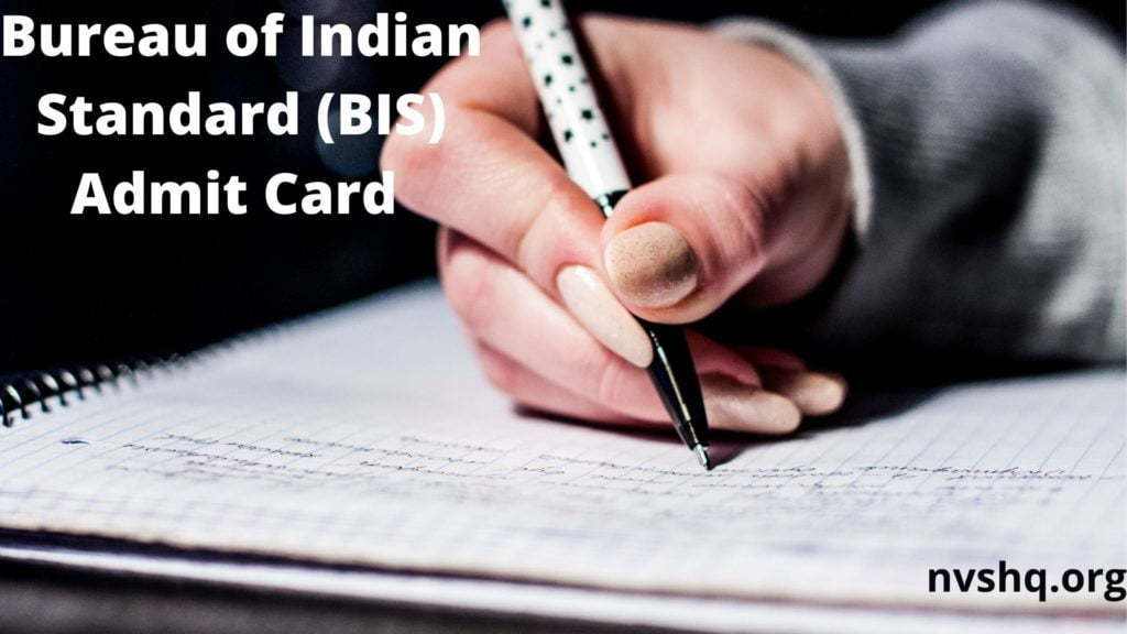 BIS Senior Secretariat Assistant Admit Card 2020 Hall Ticket