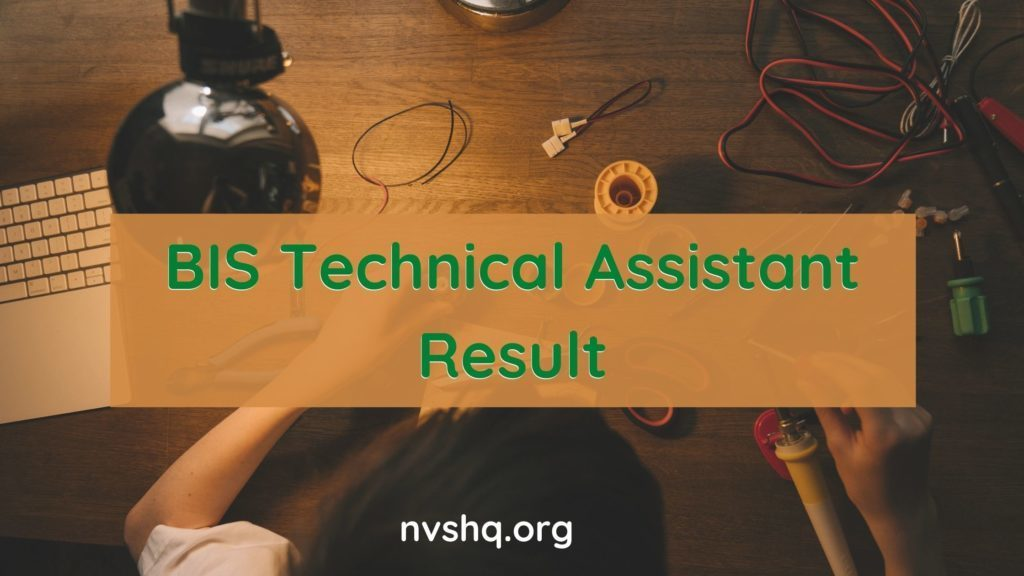 BIS-Technical-Assistant-Result-2020