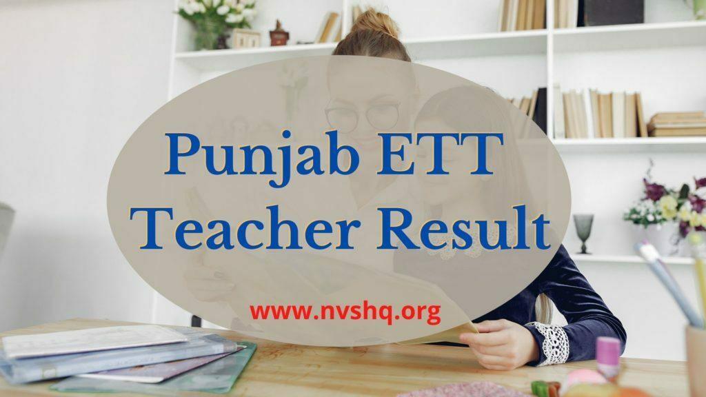 Punjab-ETT-Teacher-Result-2020
