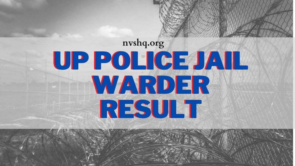 UP-Police-Jail-Warder-Result-2020-2021