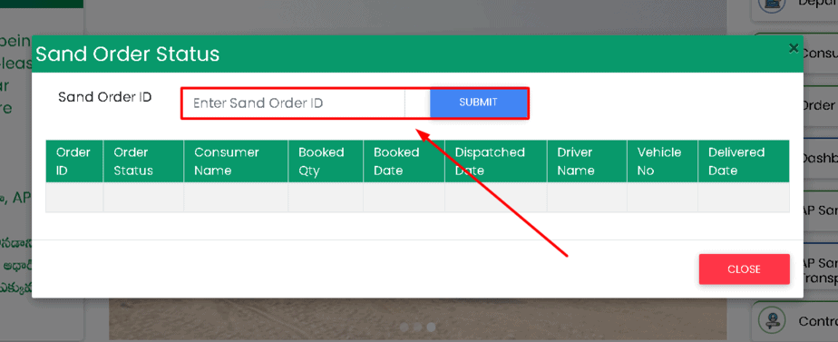 ap-sand-booking-order-tracking