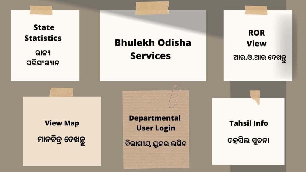 Bhulekh Odisha Services