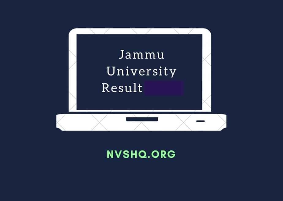 Jammu-university-results-notification