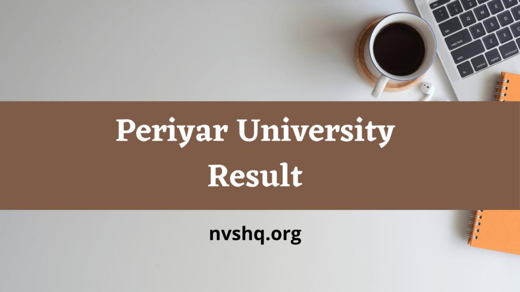 periyar-univversity-result