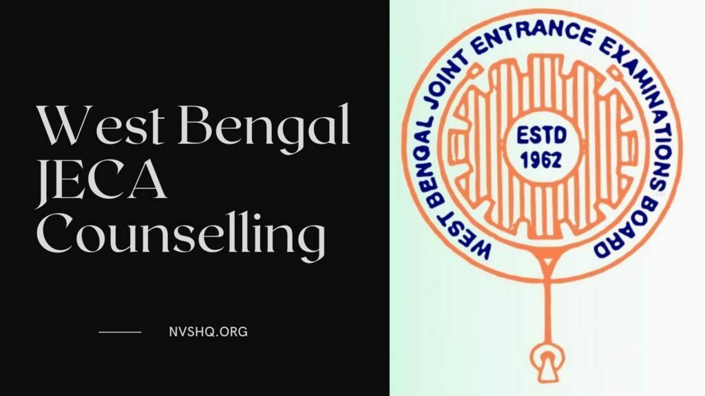 West Bengal JECA Counselling 2021