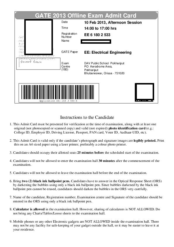 gate-admit-card-2021