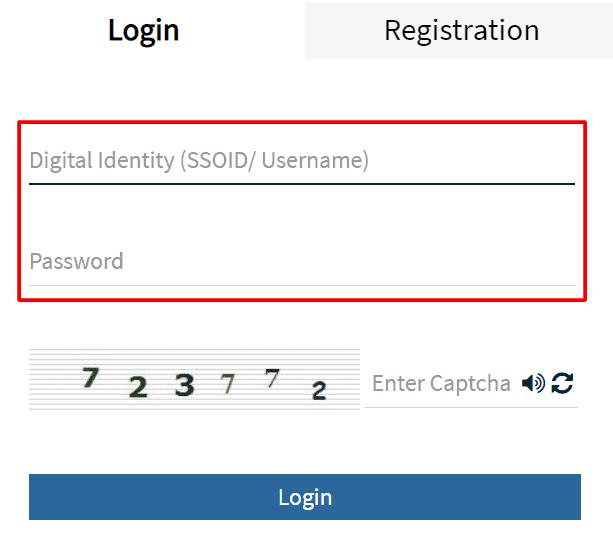 Rajsso-login-info