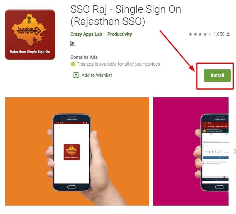 SSO-raj-mobile-app