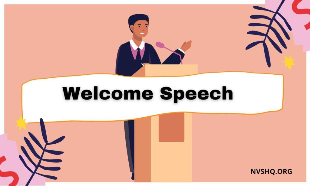 Welcome-Speech
