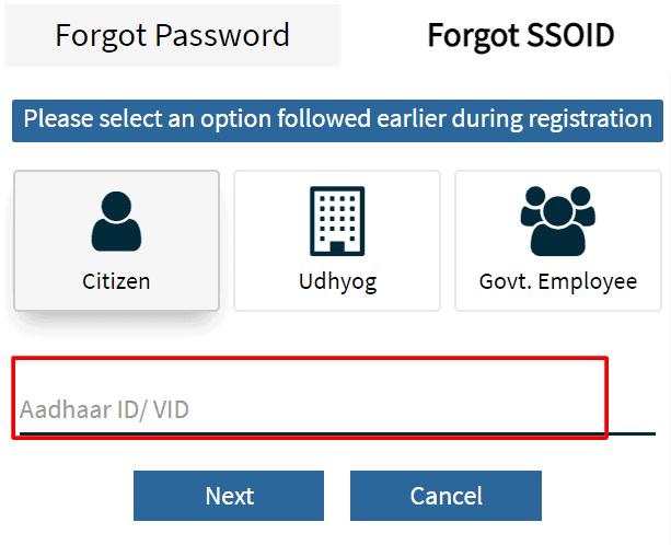 enter-SSO-id-info