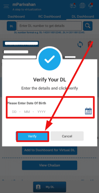m-Parivahan-Virtual-dl-verification