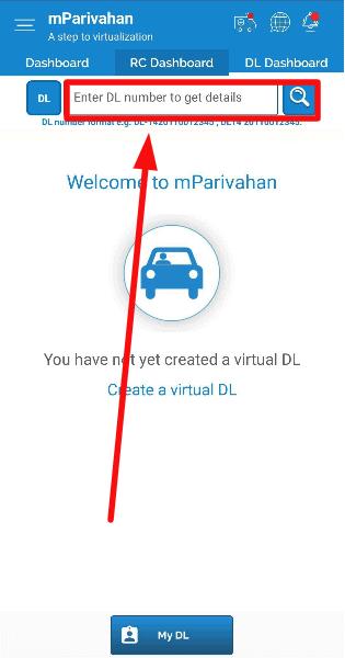 m-parivahan-Virtual-Driving-license