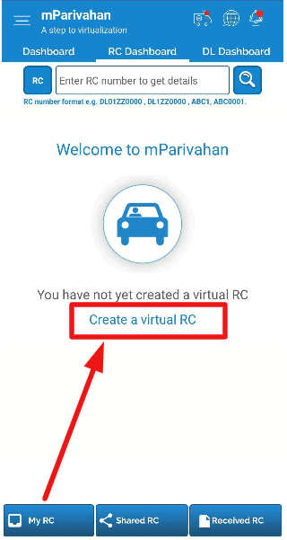 mParivahan-app-download-virtual-rc