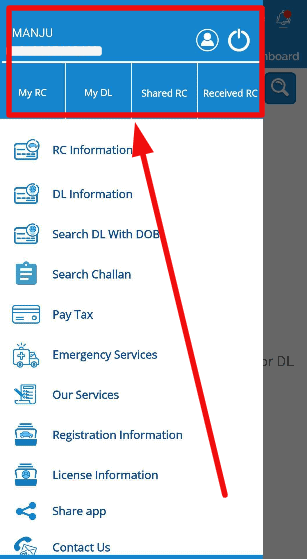 mParivahan-mobile-application