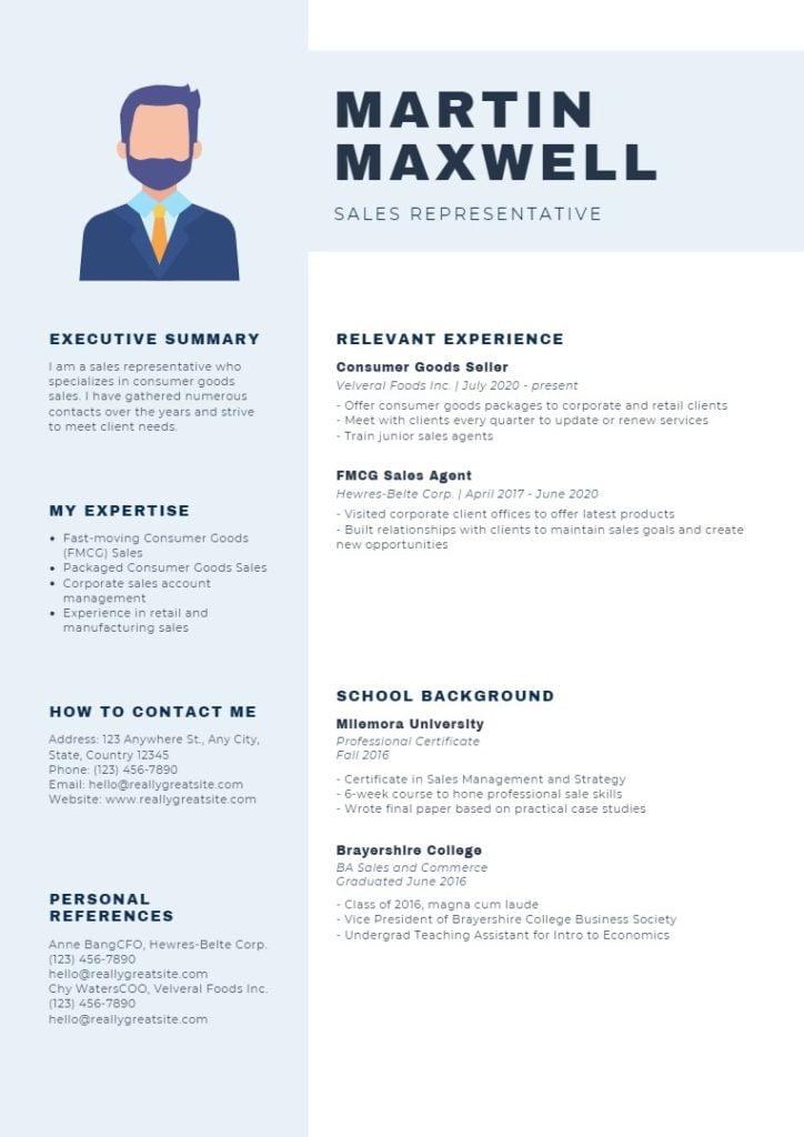 resume-sales-representative