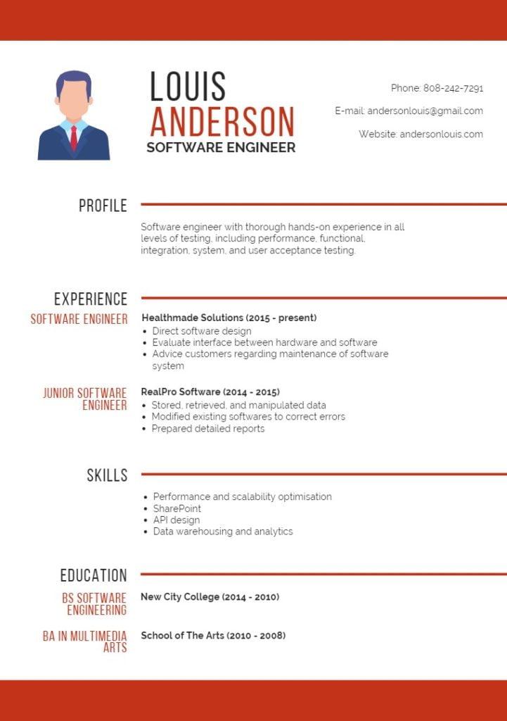 resume-software-engineer