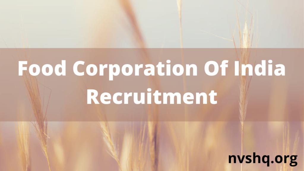 fci-recruitment-2021
