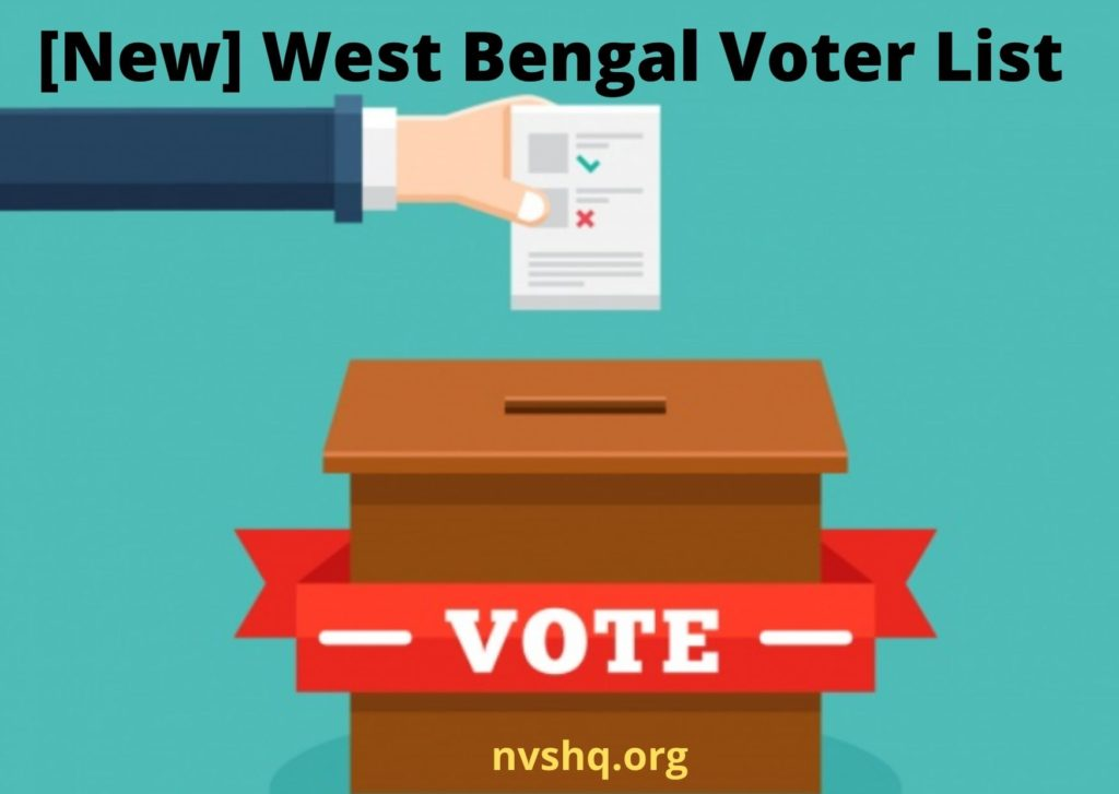 [New] West Bengal Voter List 2021 WB Election Apply for Duplicate Voter ID