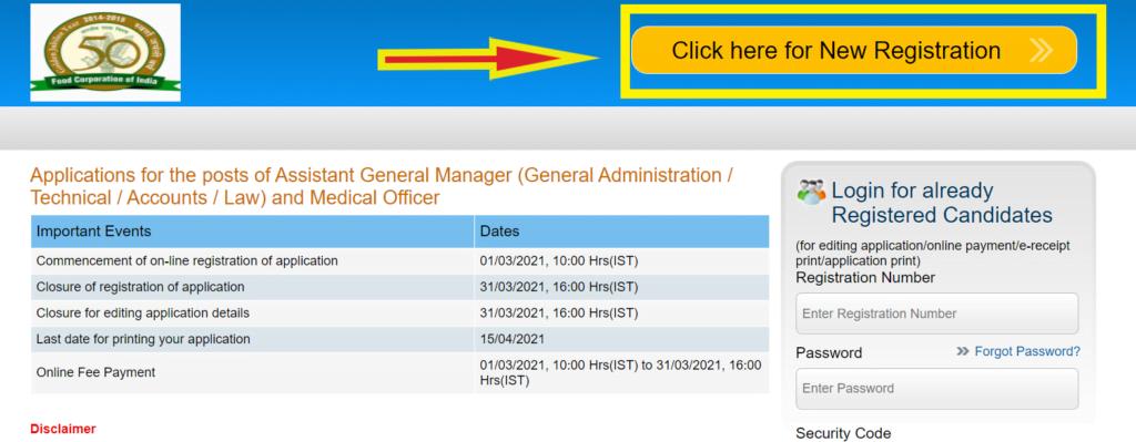 fci-online-registration