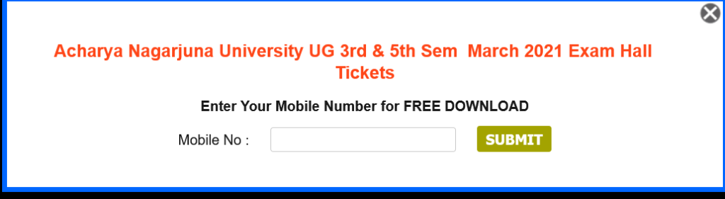ANU_Hall_Ticket_download